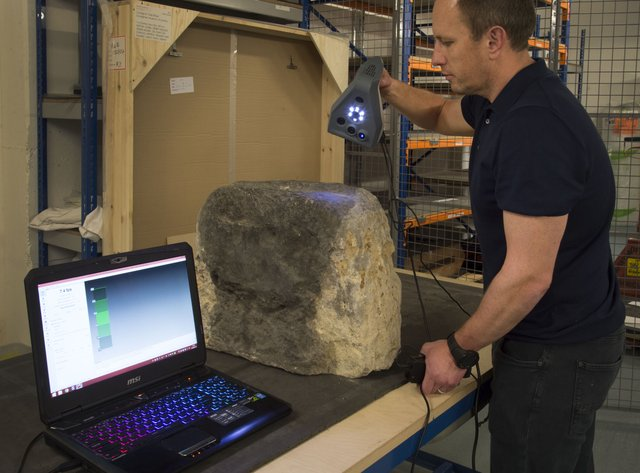 Scanning the London Stone