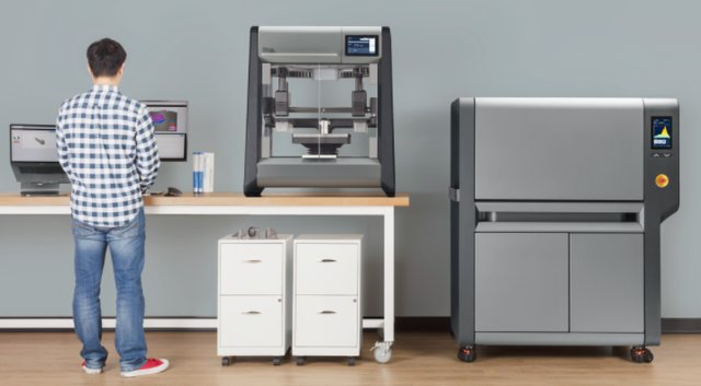 The DM Studio System is the world's  firrst ffordable, office- friendly metal 3D printing system