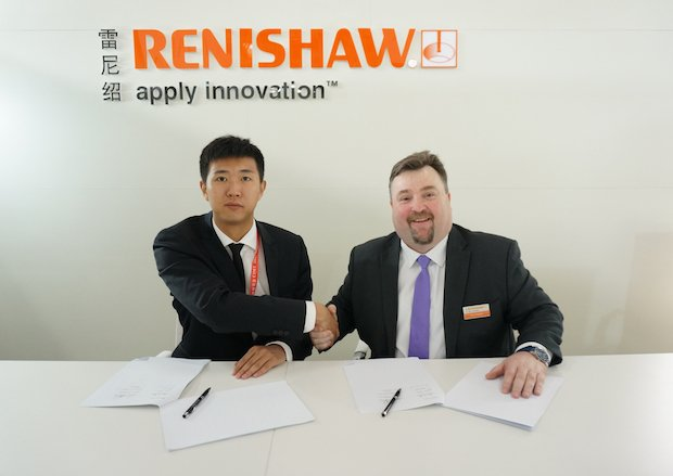 Renishaw FalconTech partnership