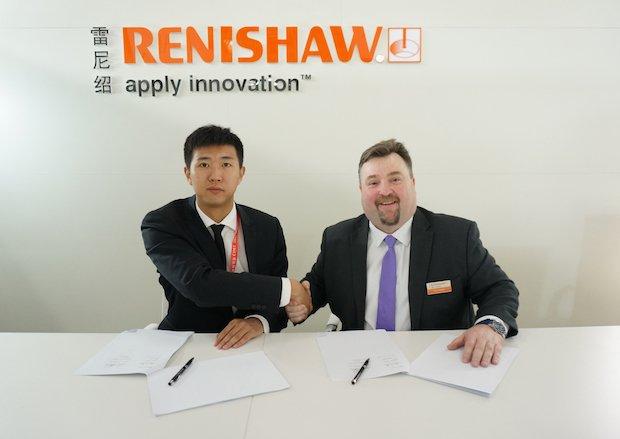 Renishaw FalconTech partnership