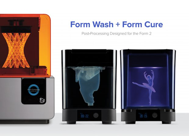Form Wash and Form Cure
