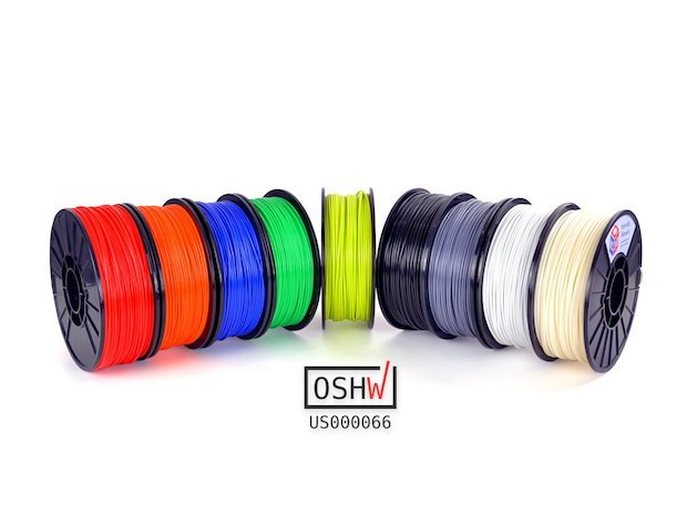 Aleph Objects IC3D filament RAPID2017