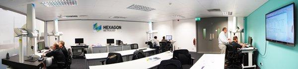 Hexagon Training Centre Panorama