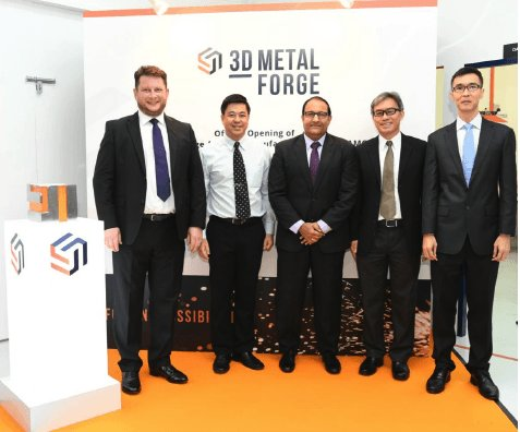 3D Metalforge opens metal additive manufacturing centre in Singapore