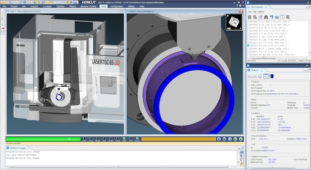 CGTech AM Vericut software
