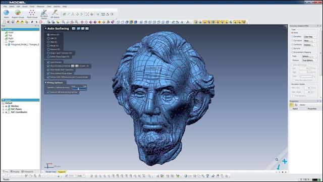 3D Creaform Go Model