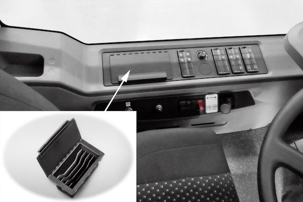 Daimler Buses 3D print interior parts