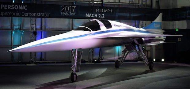 Boom Supersonic Stratasys