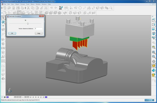 Delcam Electrode Expanded Support