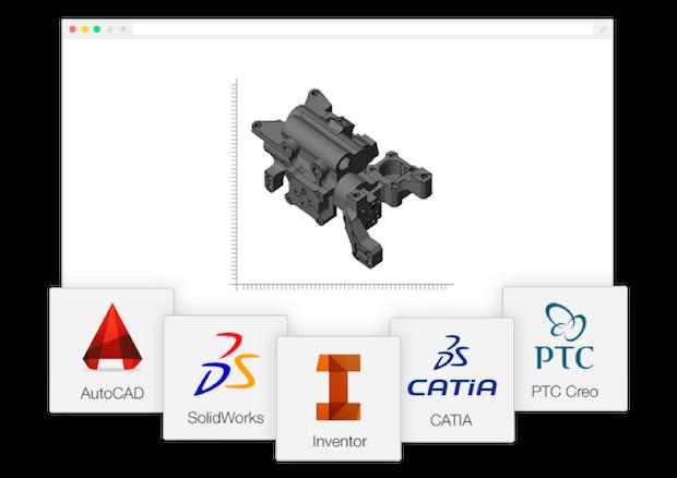 RP Platform CAD software