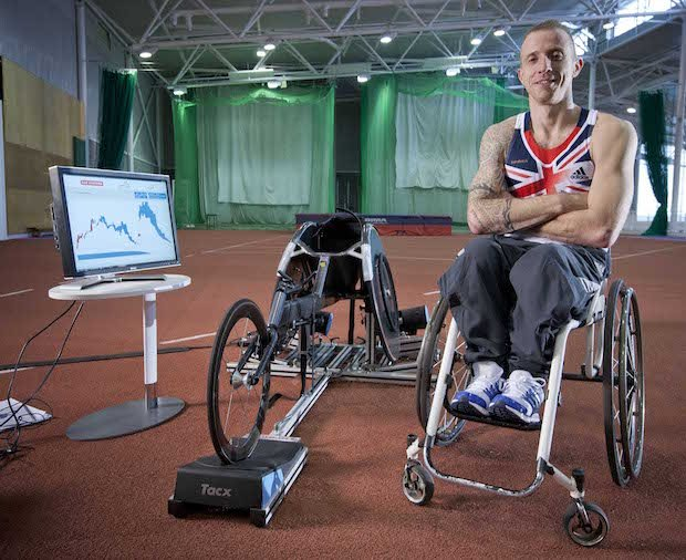 Richard Chiassaro BAE Systems Para Athletics
