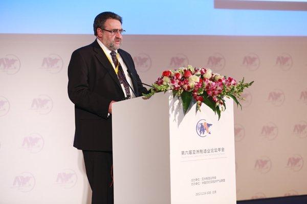 Graham Tromans in China