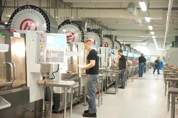 Proto Labs CNC Machines
