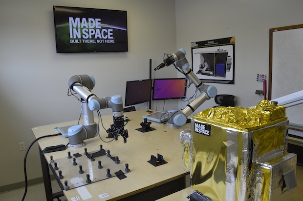 Made In Space Control Room