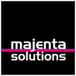 Majenta Square Logo