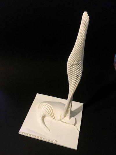 Floreon 3D PLA part