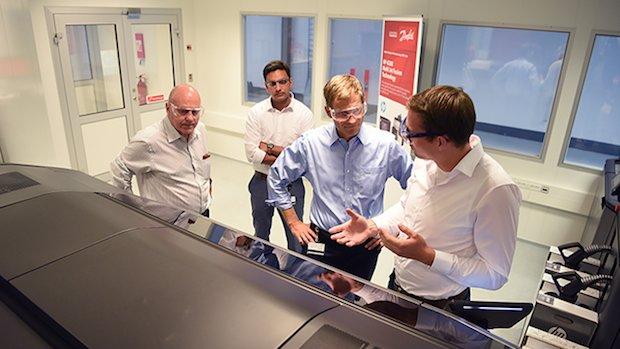 Danfoss 3D printing centre Denmark