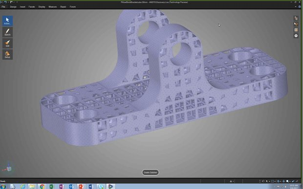 ANSYS Discovery Live STL file