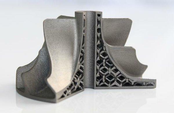 Impeller printed in titanium with weight saving lattice.jpg