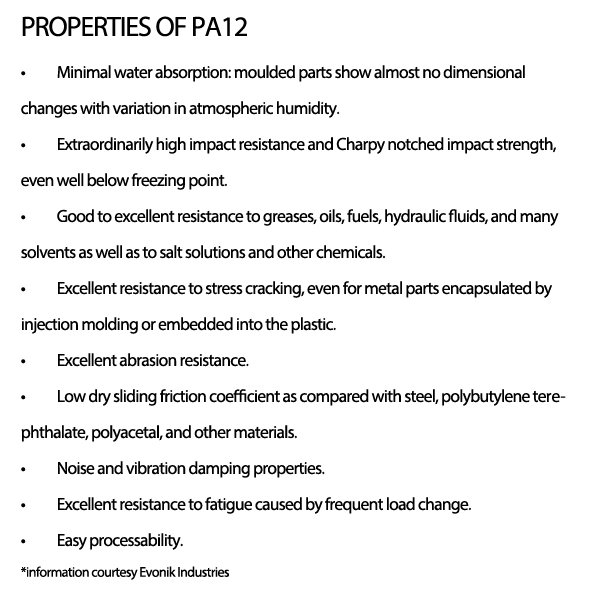 Pa12 properties