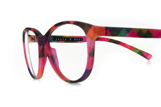 Powder & Heat bring multi-coloured 3D printed eyewear frames to ...
