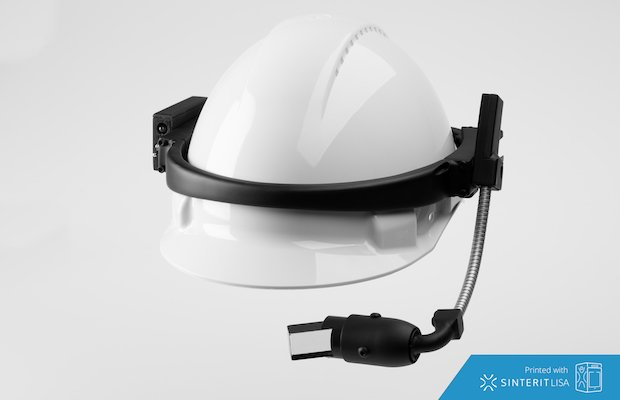 Sinterit Lisa AR smartglasses