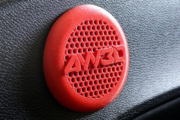 Airwolf 3D car speaker-cover