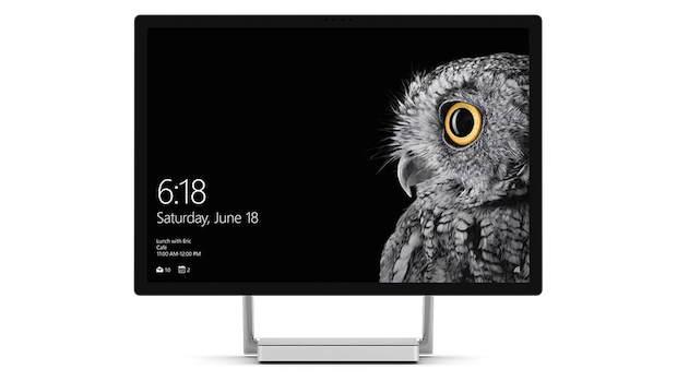 Microsoft Surface Studio correct caption