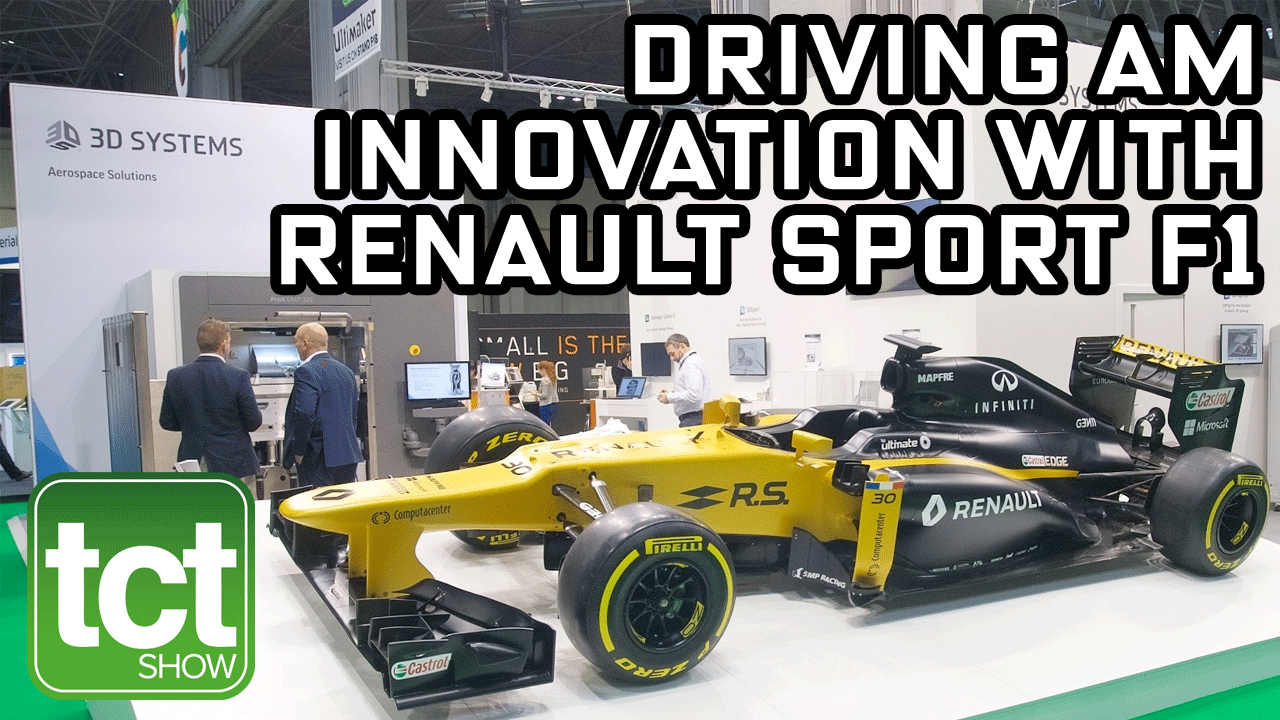 3D Systems and Renault F1