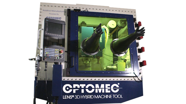 LENS Hybrid 3D Machine Tool