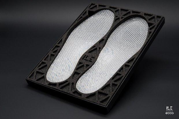 Ecco Shoe silicone midsoles