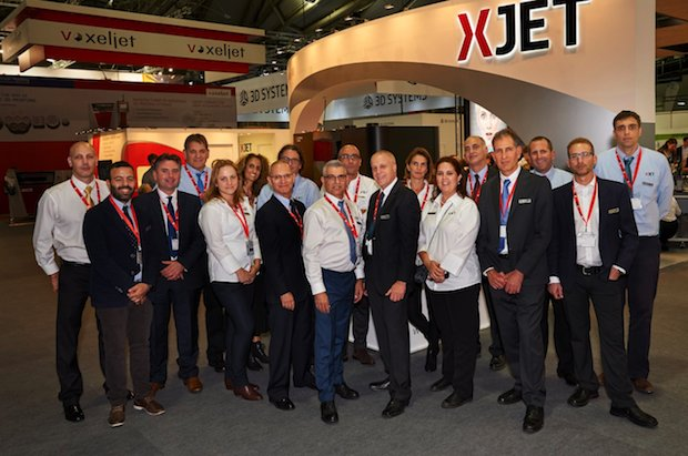 XJet team at formnext 17