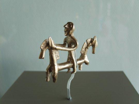 Extrem genaues Detail: die im 3D-Druck erstellte Kopie des Unlinger Reiters (Bildquelle: © Landesamt für Denkmalpflege im Regierungspräsidium Stuttgart)