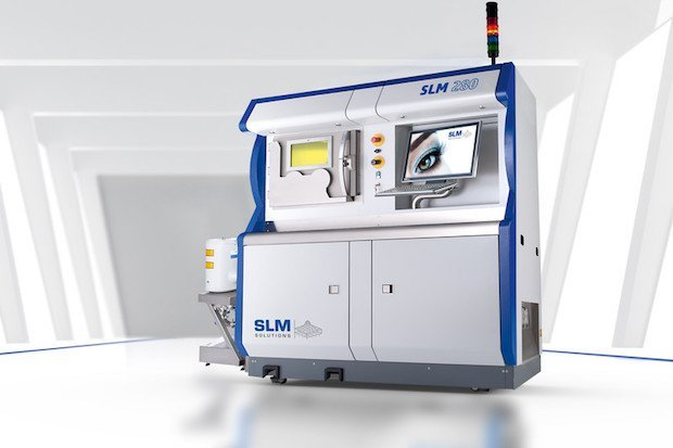 SLM Solutions 280 2.0 machine