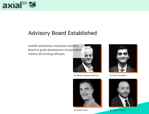 axial 3D advisory board