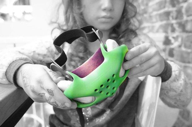 Netfabb Sinterit Lisa pollution mask