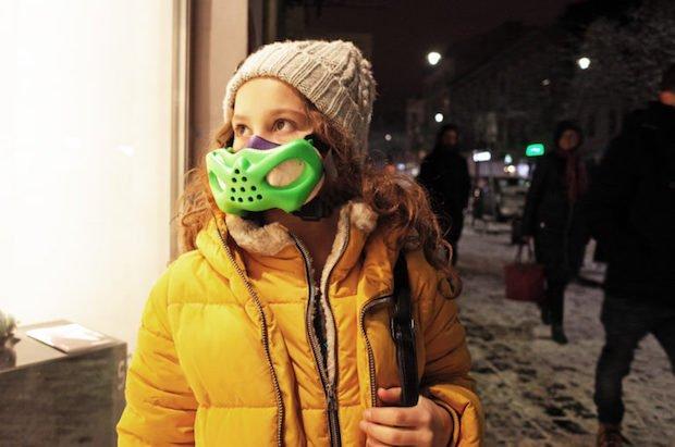 Children's pollution mask