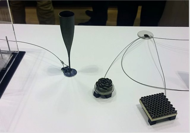 Parts from Nikons technology demonstrator
