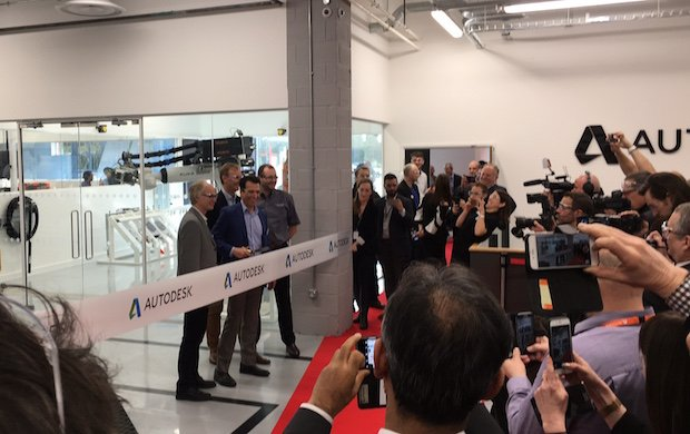 Ribbon cutting - Autodesk.JPG