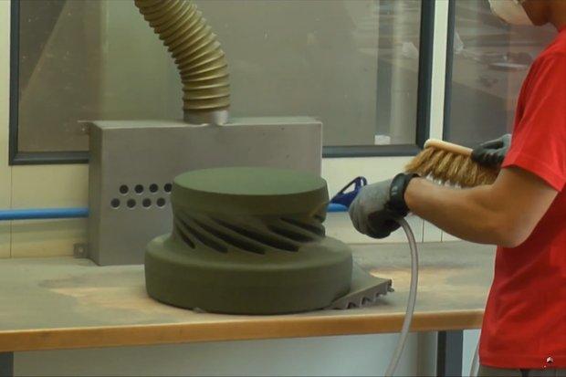 Voxeljet sand casting