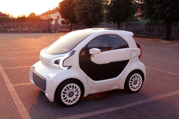 Polymaker electric car