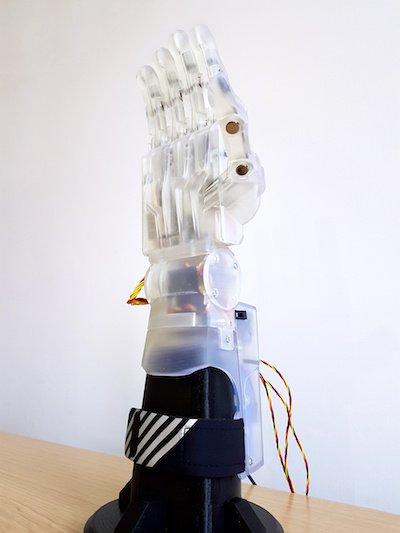 Manc students robotic hand