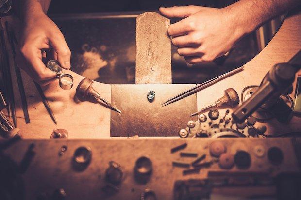Jewellery bench skills