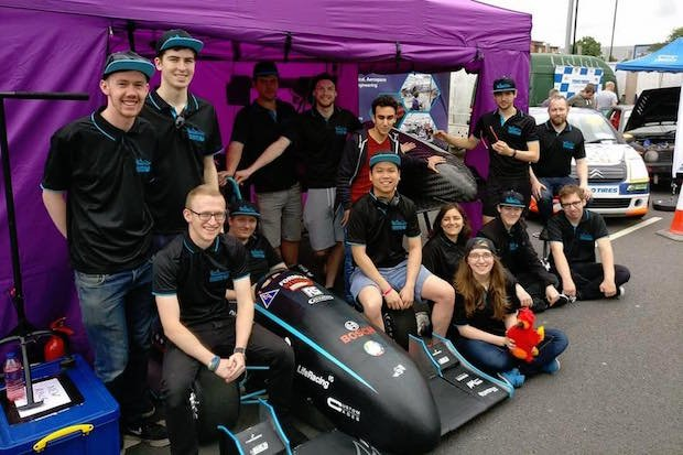 The Phoenix Racing Team from Coventry University
