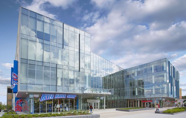 UMass Lowell University Crossing student center.jpg