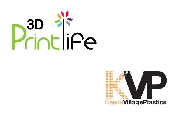 3D Printlife KVP logos