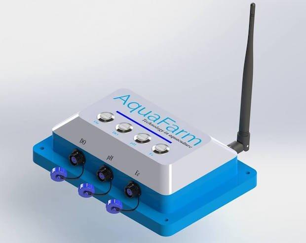 Aquafarm Water Sensor System.