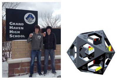 Grand Haven High School Extreme Redesign winners