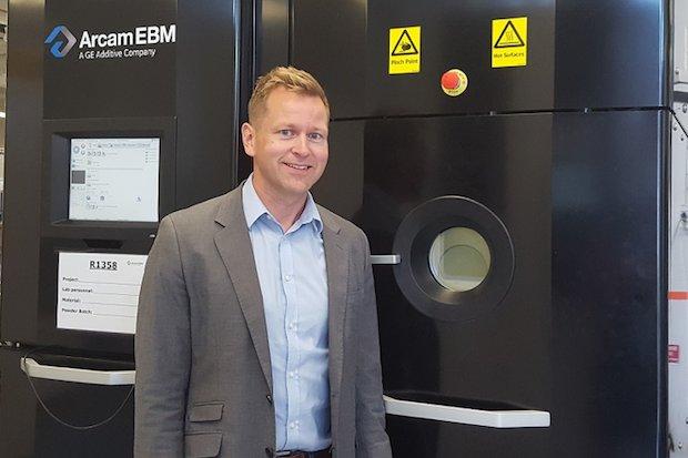Isak Elfstrom, Vice President – Research, Arcam EBM