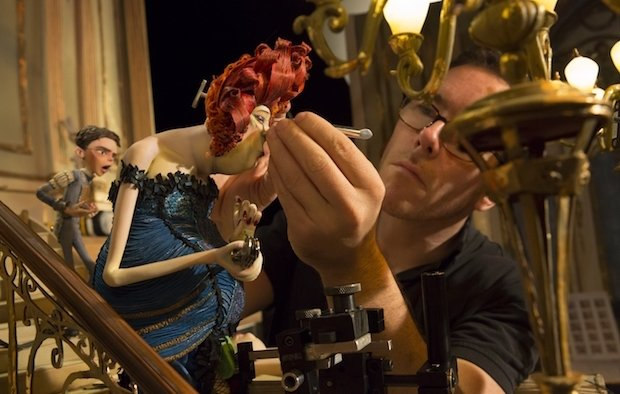 (Boxtrolls) Adding the finishing touches to Madame Frou Frou, a star of The Boxtrolls movie.jpg